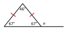 Exterior angle theorem definition formula video - Measure of exterior angles of a triangle ...