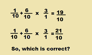 order of operations with fractions pdf