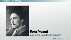 ezra pound imagism essay Ezra pound in the imagist movement in the beginning of the 20th century, a poetry style called imagism was growing imagism is derived from modernism and was created.