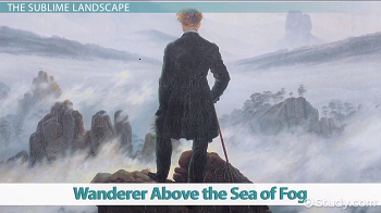 Wanderr Above the Sea of Fog paiting
