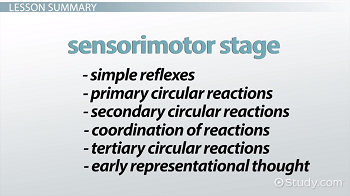 Sensorimotor development stage outlined