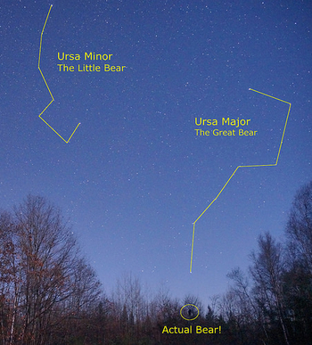 Ursa Major & Minor Constellation Myths Lesson for Kids