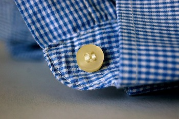 Button on a cuff
