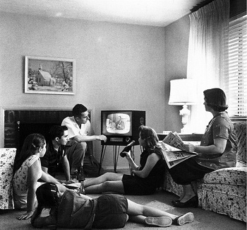 television in the home