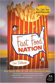 Fast Food Nation novel cover photo