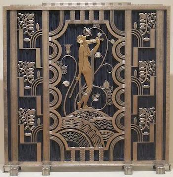 Art Deco Firescreen