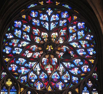 Lesson Summary Rose Windows Are The Large Circular Stained Glass Found In Gothic