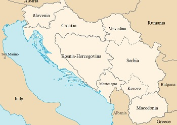 Nations that emerged from Yugoslavia