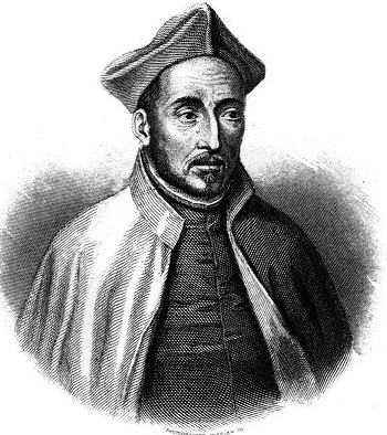 Ignatius of Loyola, the founder of the Jesuits