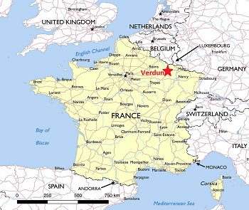 Where was the battle of verdun fought study in the battle of verdun the french were victorious over the germans the battle lasted from february 21 1916 until december 18 1916 publicscrutiny Choice Image