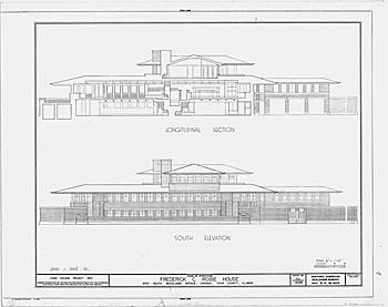 Robie House Location History