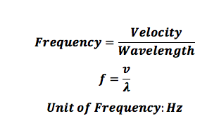 Formula For Frequency