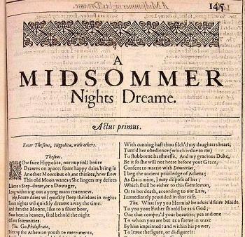 Figurative Language In A Midsummer Night S Dream Study Com
