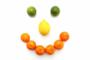 Fruit Smiley Face