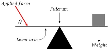 Forces Applied At A Distance From The Fulcrum