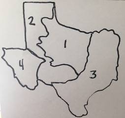 Map Of Texas 4 Regions Labeled.Map Of Texas 4 Regions Labeled Twitterleesclub