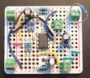 Full small solder board