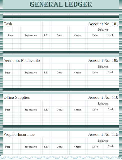 Exceptional General Ledger  General Ledger Form