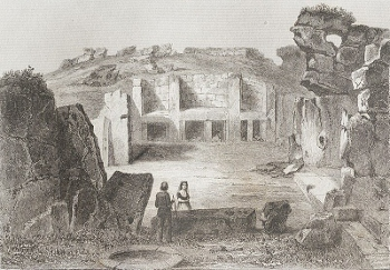 Illustration Of The Ggantija Temples