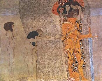 The Beethoven Frieze by Gustav Klimt   Study.com