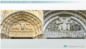 Details Of Gothic Sculpture