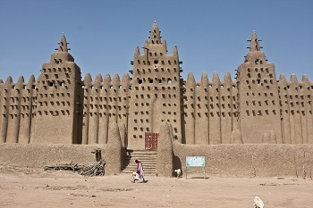 Mali empire architecture art study the great mosque of djenne fandeluxe Gallery
