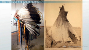 Great Plains Indian Tribe Teepee