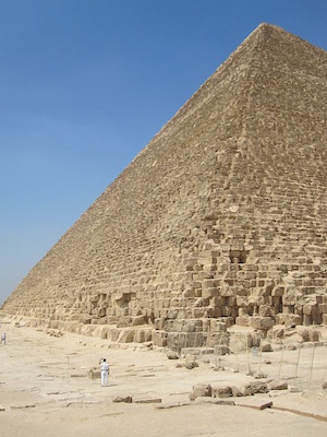 giza pyramids facts for kids