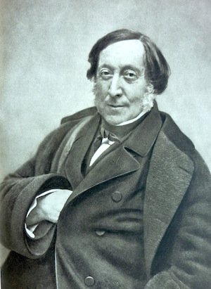 Portrait of Gioachino Rossini