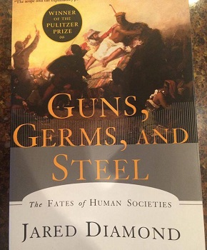 guns germs steel jared diamond thesis I read reviews and summaries of jared diamond's thesis and theory about the european advantage jared diamond - guns, germs and steel  guns, germs .