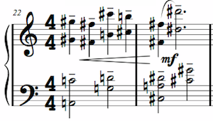 Hairpin Crescendo Example