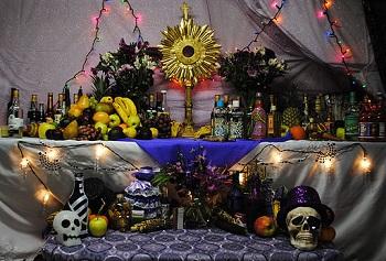 Haitian Voodoo Altar