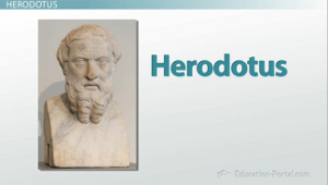 an analysis of the work of herodotus Most of the work of herodotus is a geographical and anthropological  an  anecdote is a method for conveying a synthetic interpretation of events it can be .