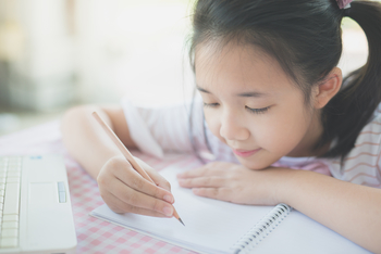 Journaling is a good homeschool activity for when you need a break