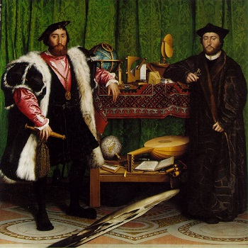 Hans Holbein The Ambassadors