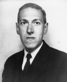 Photo of H.P. Lovecraft, taken in June 1934