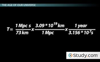 conversion for hubble equation