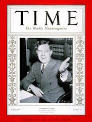 Huey Long TIME mag cover