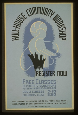 Poster of Hull House Poster, 1938