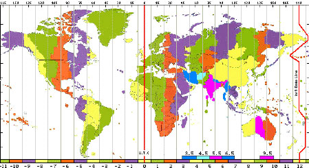 International Date Line On World Map.International Date Line Definition History Location Video
