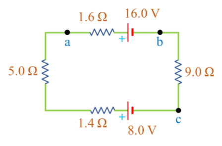 consider the circuit of the figure below  part a: what is the total rate at  which electrical