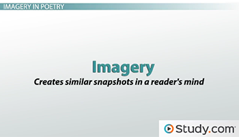 Imagery in Poetry: Definition, Examples & Types - Video & Lesson