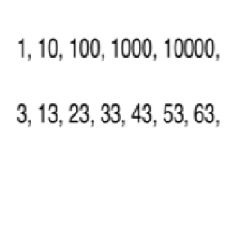Number Pattern