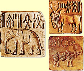 Tablets from the Indus excavation site