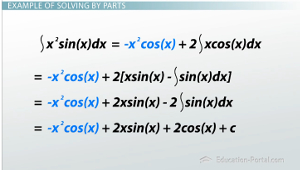 Integration by Parts Example