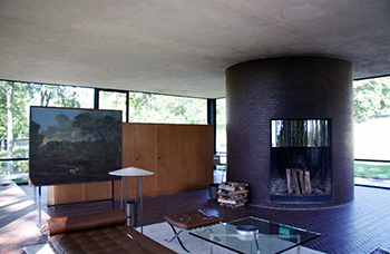Philip Johnson\'s Glass House: Interior & Floor Plan | Study.com