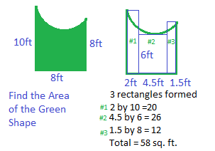 Estimating the Area of Irregular Shapes - Video & Lesson