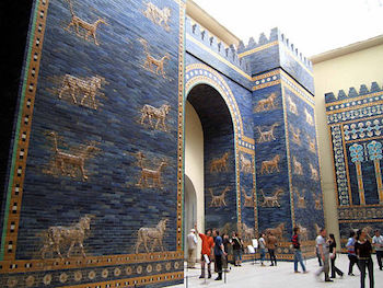 Ishtar Gate at the Pergamom Museum
