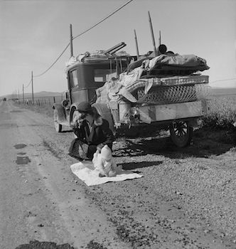 Route 66 in The Grapes of Wrath: Symbolism & Quotes   Study com