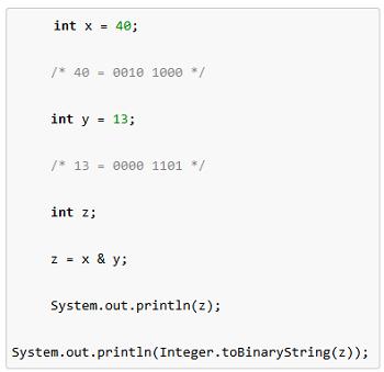 Java: Bitwise Operators | Study com